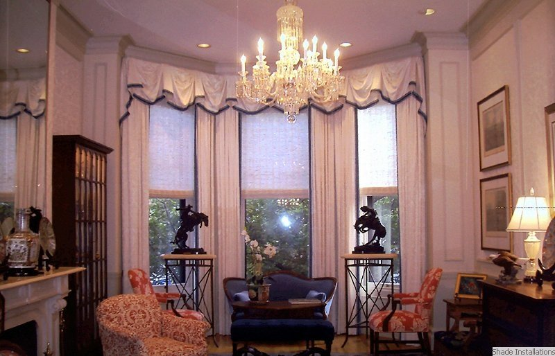 Boston Shade Installations Natural Shades Conrads Window Treatments Company Firm Installers Installation Boston