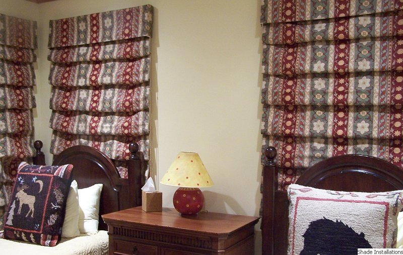 Boston Shade Installations Roman Shades Window Treatments