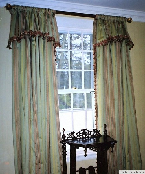 Boston Shade Installations Draperies Curtains Window
