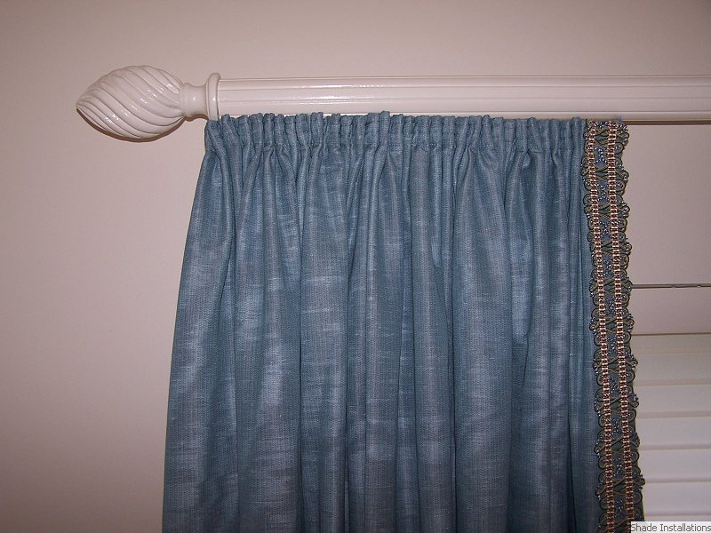 inch smocked long x sheer drape curtains